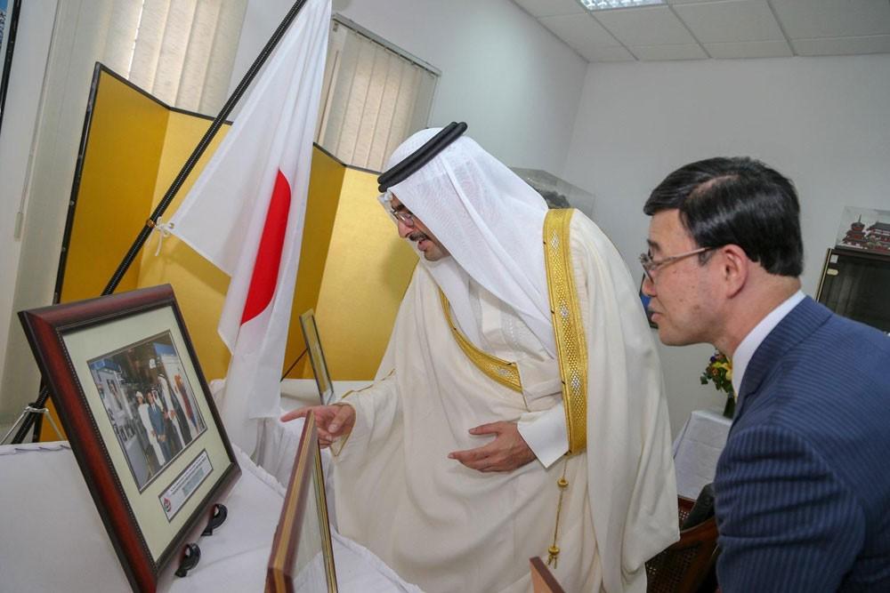 سمو محافظ الجنوبية يزور السفارة اليابانية