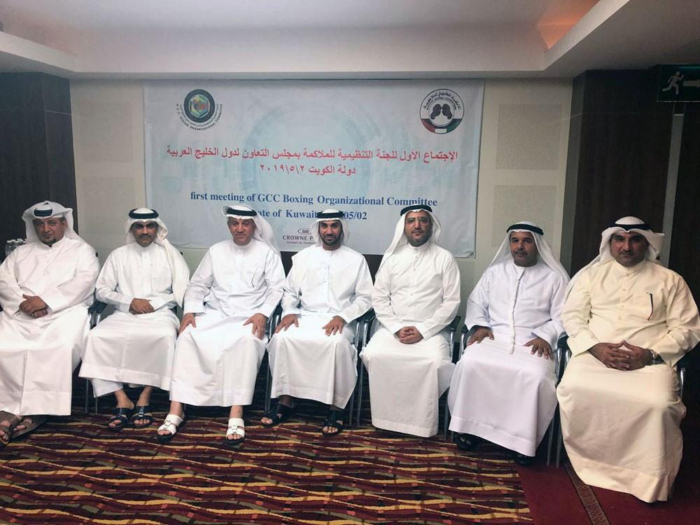 الخياط يختتم مشاركته في اجتماع تنظيمية الخليج للملاكمة
