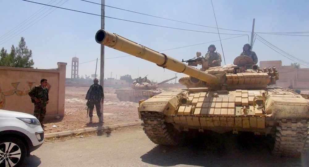 اشتباكات عنيفة بريف حماة.. ذبح وسحل جنديين للنظام