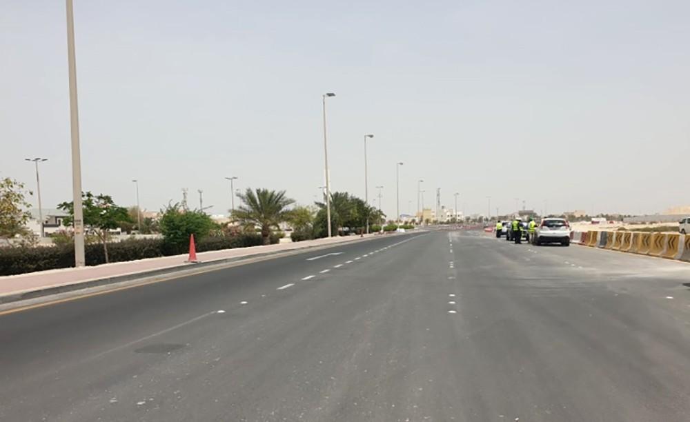 الأشغال: الانتهاء من توسعة شارع الشيخ خليفة بن سلمان من شارع 6 إلى شارع ولي العهد