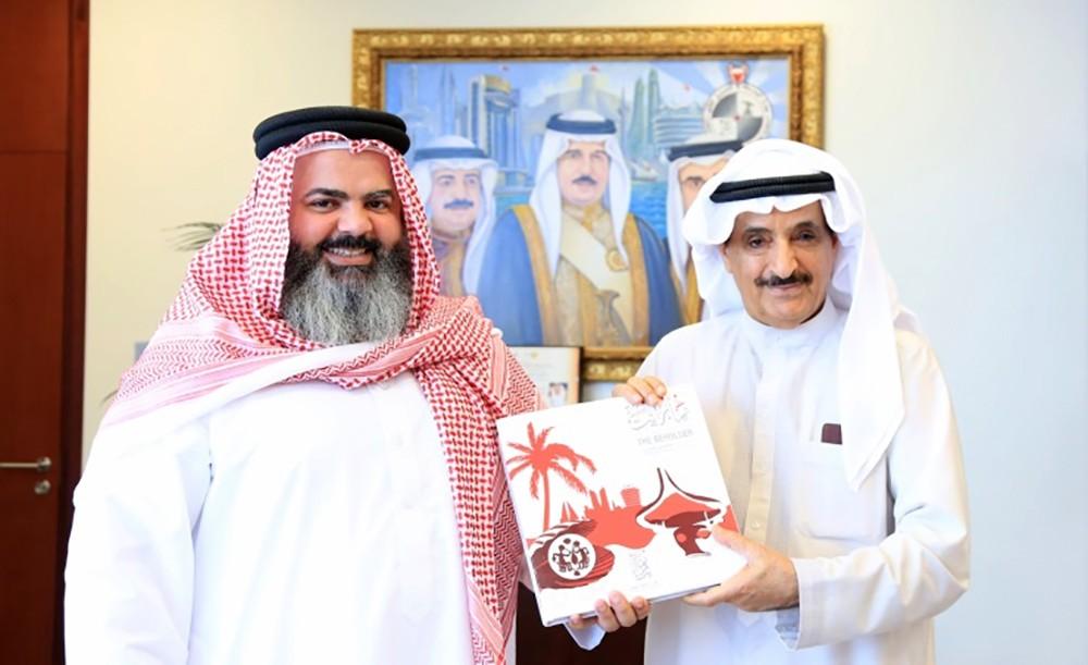 رئيس جهاز المساحة والتسجيل العقاري يستقبل فهد الشهابي