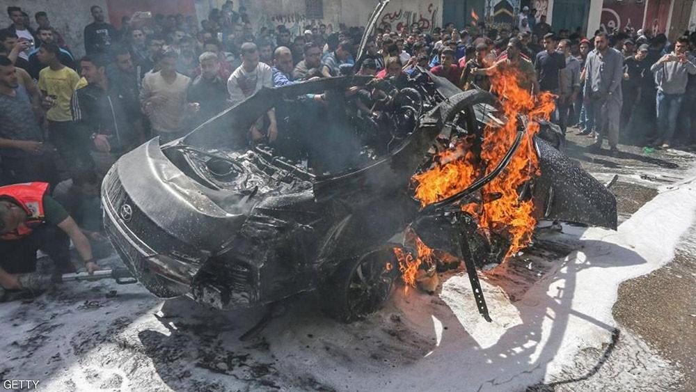 """إسرائيل تقول إنها """"قتلت"""" مسؤول نقل الأموال الإيراني لفصائل غزة"""