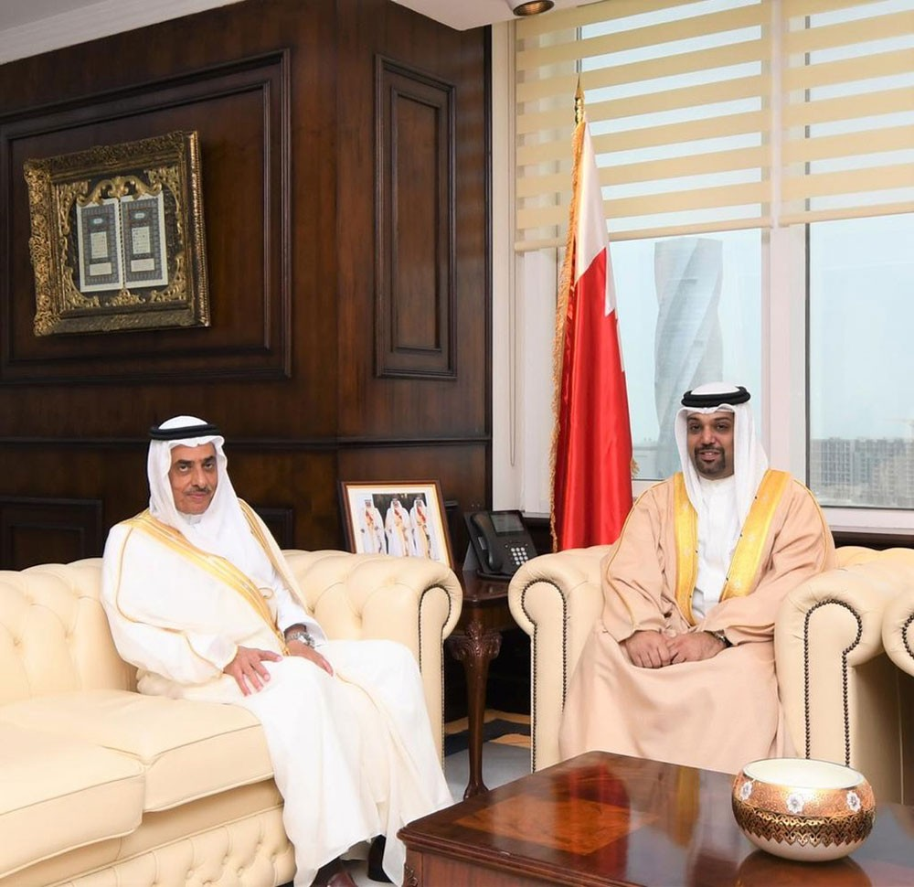 وزير المالية: مواصلة تعزيز التعاون بين البحرين والسعودية