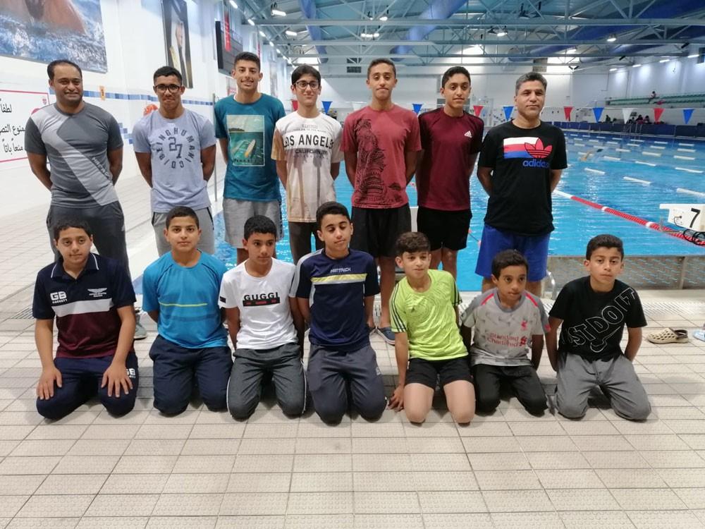 المنتخب السعودي للسباحة يبدأ معسكره بالبحرين