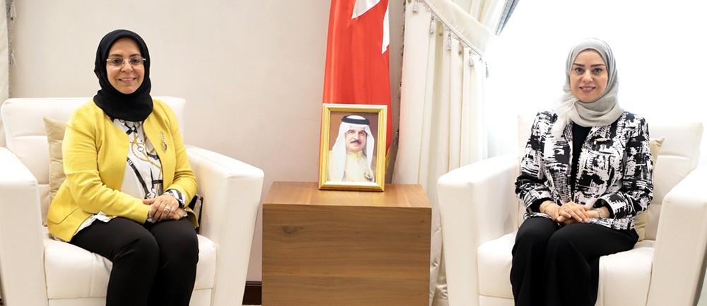 رئيسة مجلس النواب تشيد بالتعاون المتميز مع مجلس الشورى