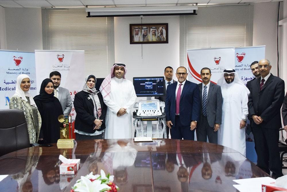 وزارة الصحة تتسلم تبرعاً سخياً مقدماً من بنك البحرين الإسلامي