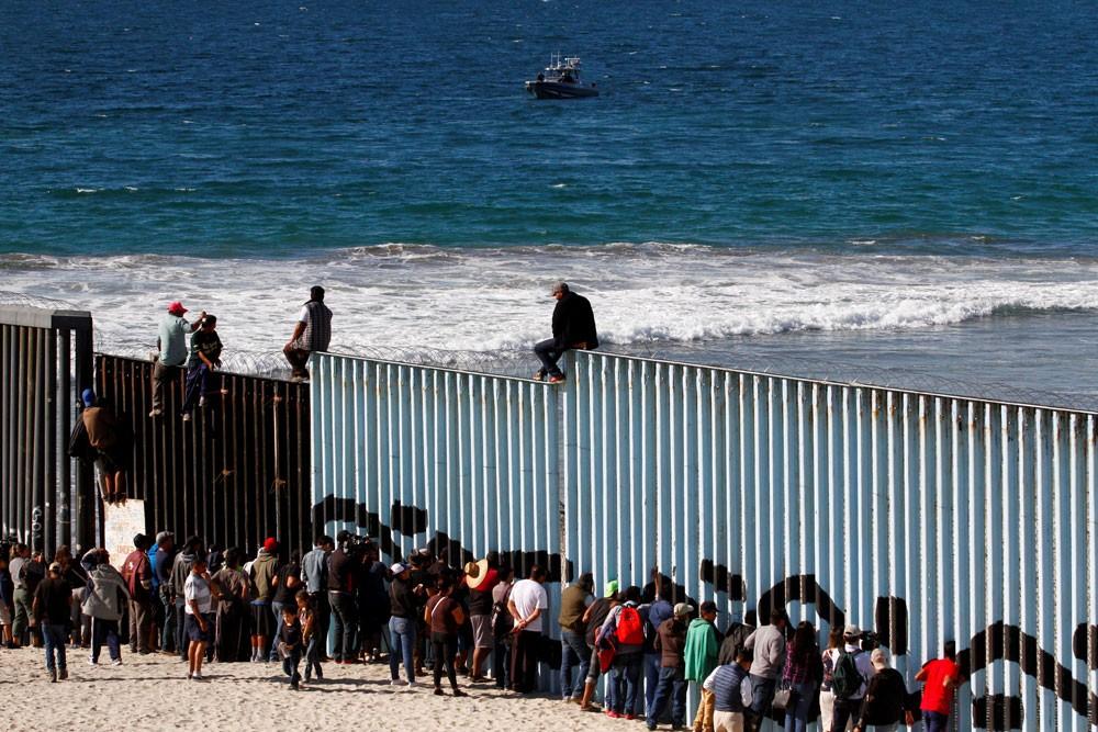 اعتقالات كبيرة على حدود المكسيك