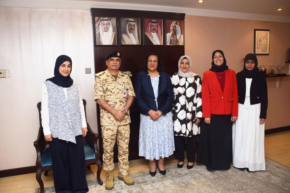 وزيرة الصحة تستقبل رابطة علم الأمراض البحرينية