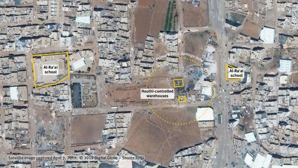 """هيومن رايتس: انفجار سعوان اليمنية حدث بسبب مواد """"حوثية"""""""