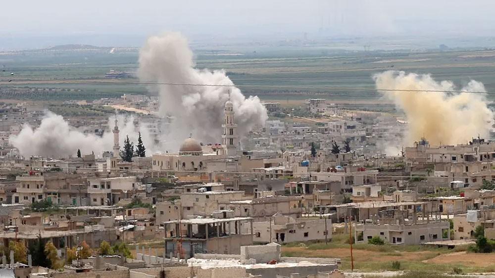 منظمات إغاثية تعلق أنشطتها في مناطق التصعيد في إدلب