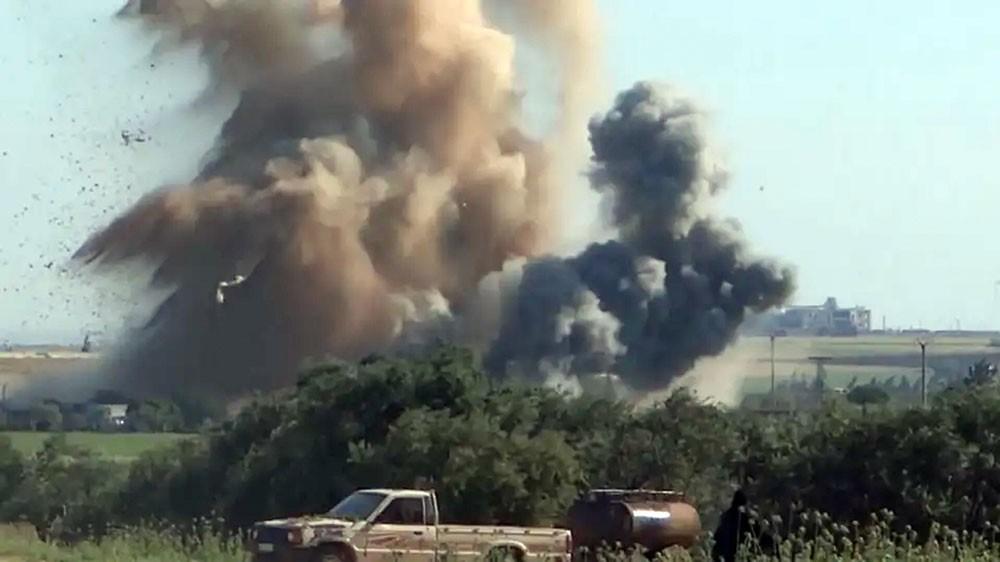 12 قتيلا مدنيا في قصف شمال غرب سوريا بينهم 6 في حلب