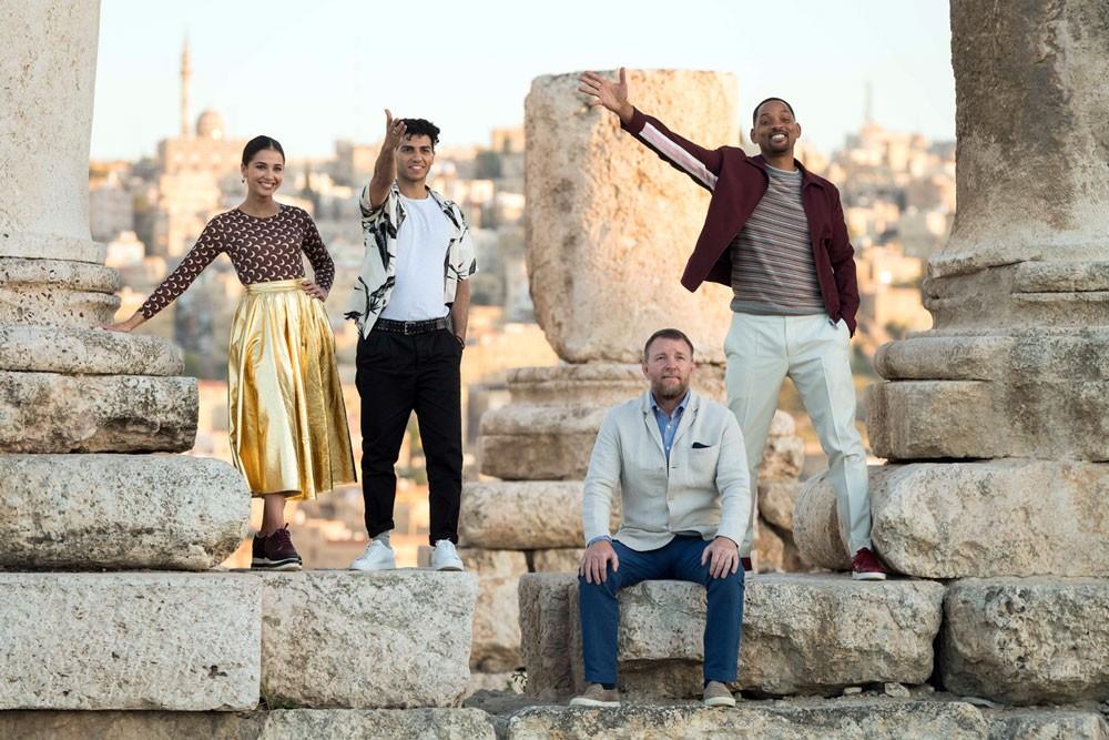 """نجوم """"علاء الدين"""" من ديزني إلى الأردن"""