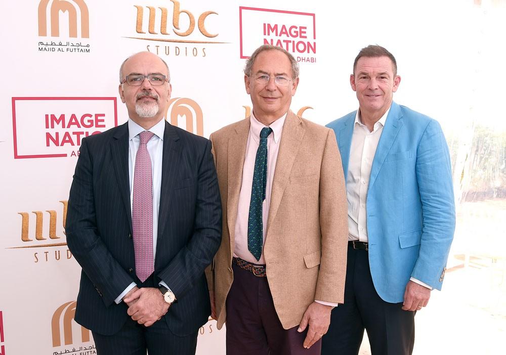 """شراكة بين إيمج نيشن أبوظبي ماجد الفطيم و""""MBC Studios"""""""