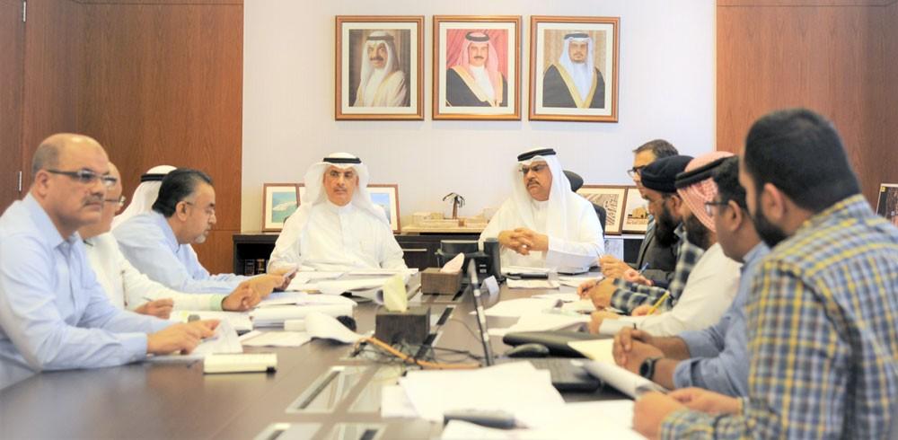 رئيس جامعة الخليج العربي يجتمع بوكيل شؤون الأشغال ويبحثان مشروع مدينة الملك عبدالله الطبية
