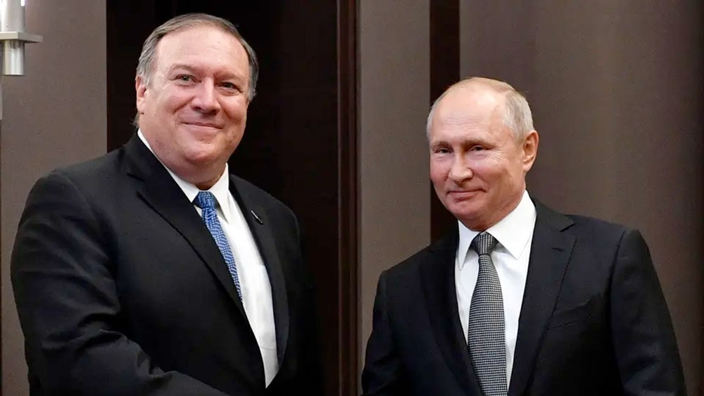 بومبيو: اتفاق أميركي-روسي على حلّ سياسي في سوريا