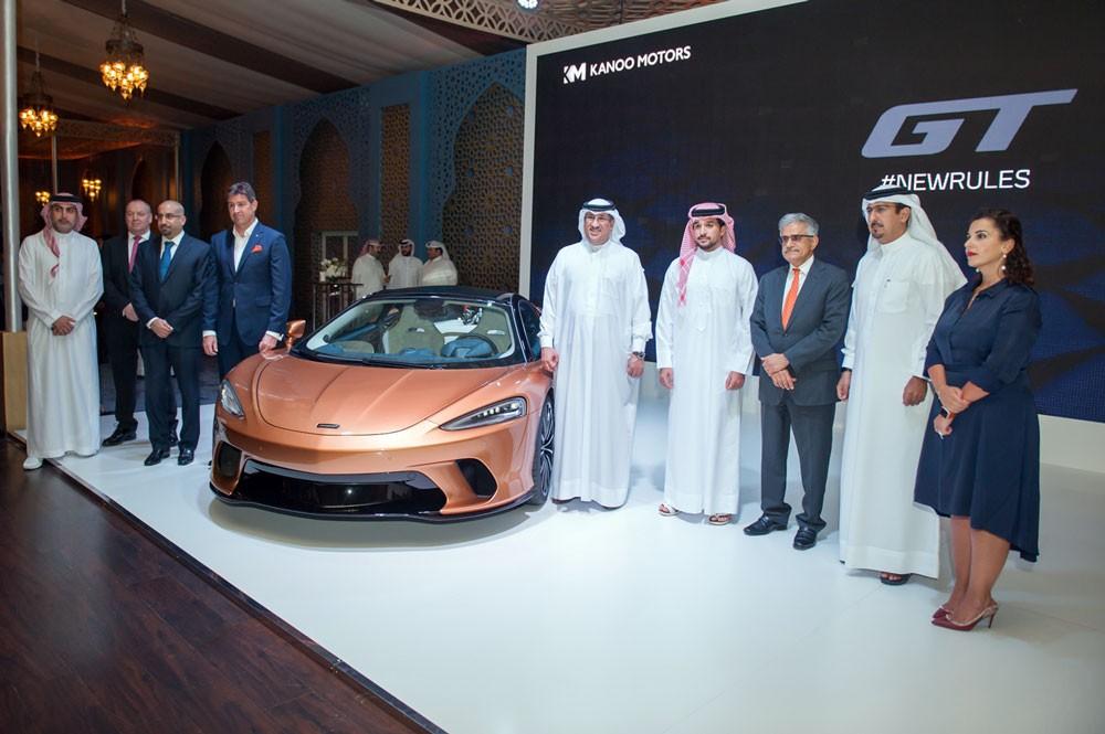 ماكلارين GT الجديدة تعرض للمرة الأولى في مملكة البحرين