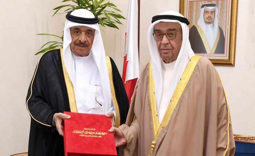 محمد بن مبارك يستقبل محمد حسن كمال الدين