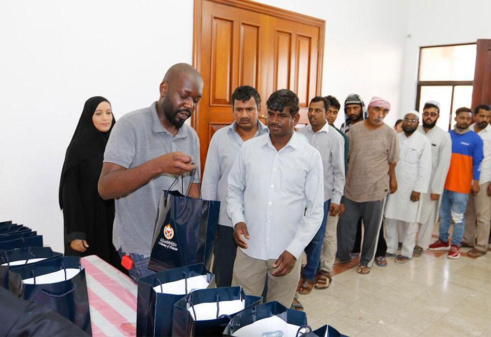 """الجنسية والجوازات والإقامة تنظم حملة إفطار صائم تحت شعار """"إقامة بلا مخالفات"""""""