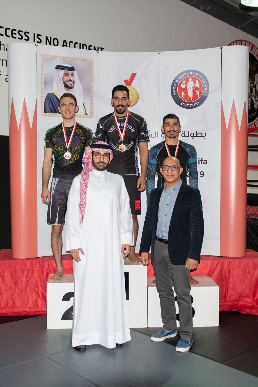 المؤيد يتوج الفائزين ببطولة ناصر بن حمد الرمضانية للجوجيتسو