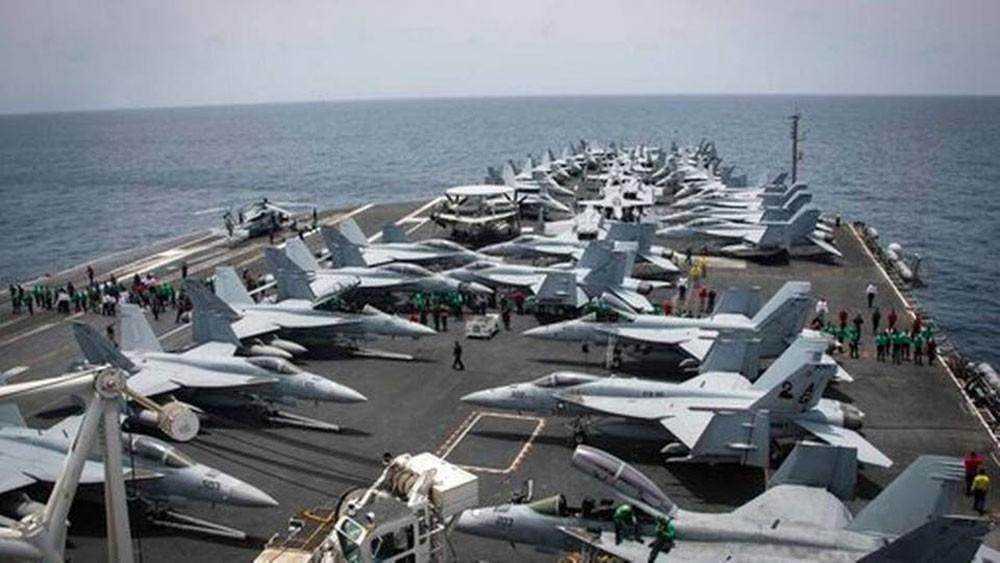 تدريب عسكري أميركي مشترك بالخليج رداً على تدريبات إيرانية
