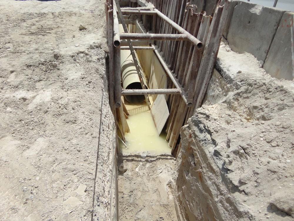 (الأشغال):6331 كيلومتر طول أنابيب شبكة الصرف الصحي في المملكة