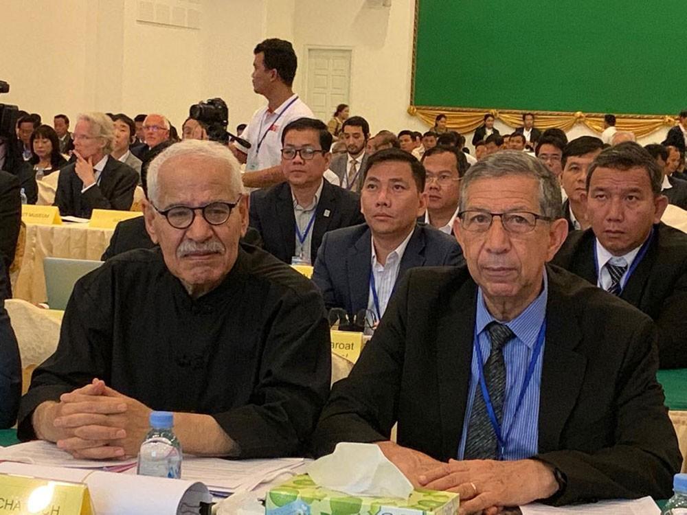 الدكتور منير بوشناقي يشارك في الدورة 32 لحماية وتطوير موقع أنغكور التاريخيّ