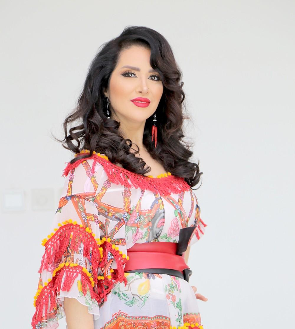 الفنانة الأردنية زين عوض  تطلق أغنية خليجية