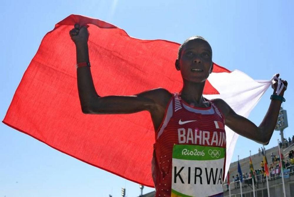 المنشطات توقف العداءة البحرينية كيروا