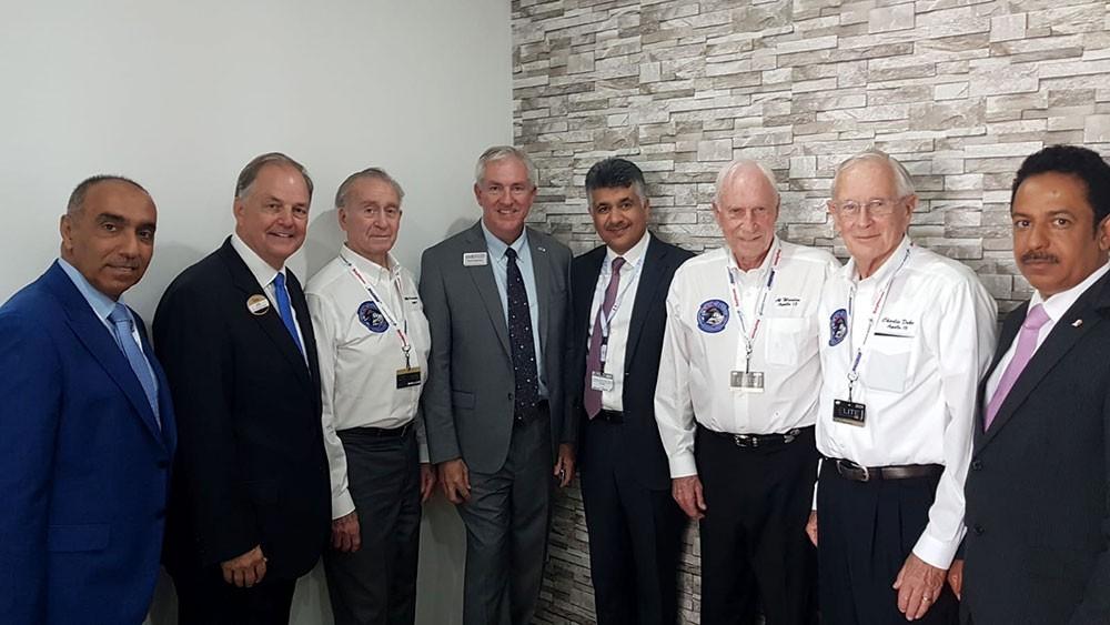 """""""الوطنية لعلوم الفضاء"""" تشارك في معسكر الفضاء بالولايات المتحدة"""