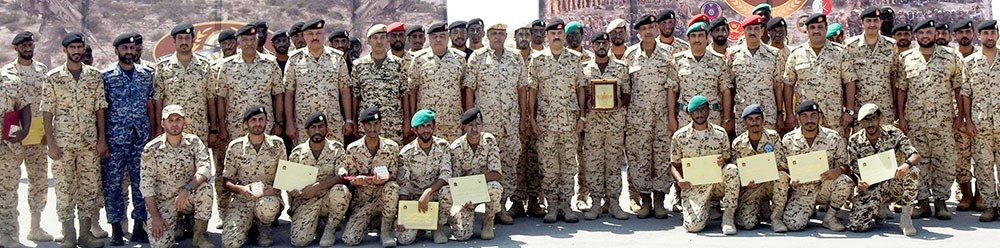 قوة دفاع البحرين تقيم حفل تخريج إحدى الدورات العسكرية المتخصصة