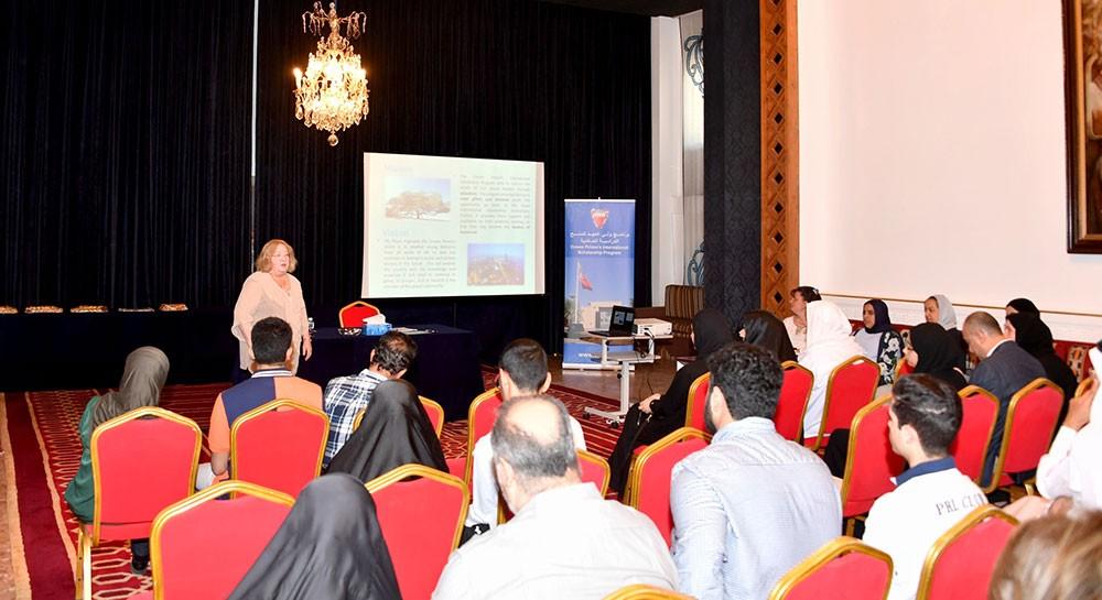 برنامج ولي العهد للمنح الدراسية العالمية ينظم محاضرة تعريفية للدفعة الجديدة