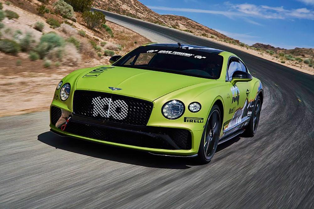 Bentley Continental GT تستعدّ لتحطيم رقماً قياسياً جديداً