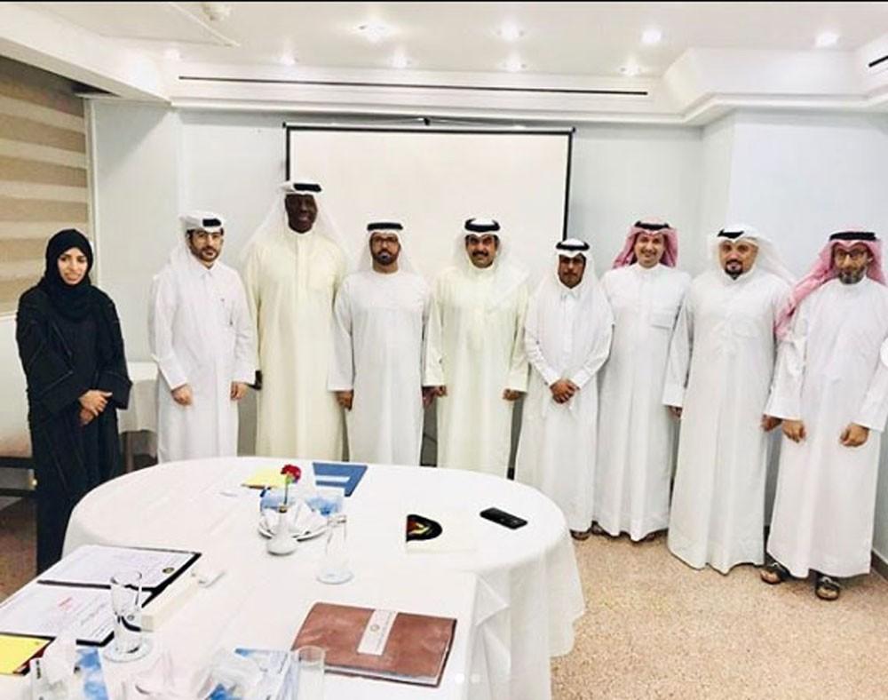 اللجنة التنظيمية الخليجية للمبارزة تعقد اجتماعها الدوري