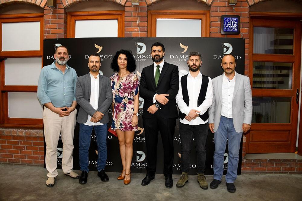 افتتاح معرض لفنانين سوريين وأتراك تحت عنوان  ثقافتان بأربعة ألوان