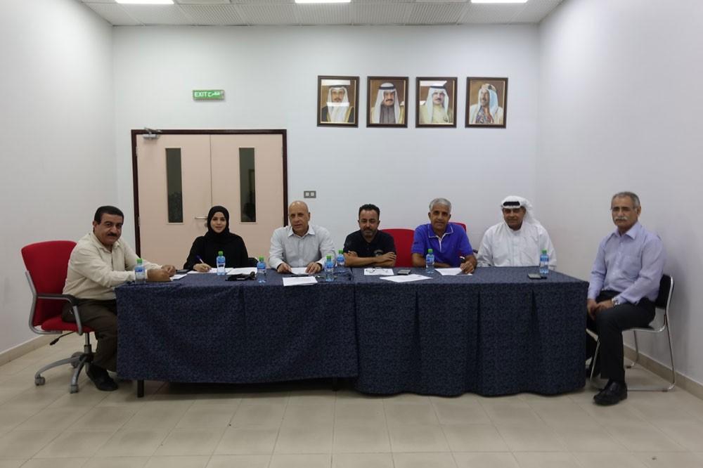 لجنة الحكام باتحاد السلة تجتمع بعد التعيين الجديد