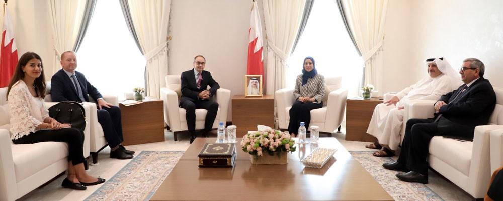 رئيسة مجلس النواب: العلاقات البحرينية البريطانية عريقة ومتميزة