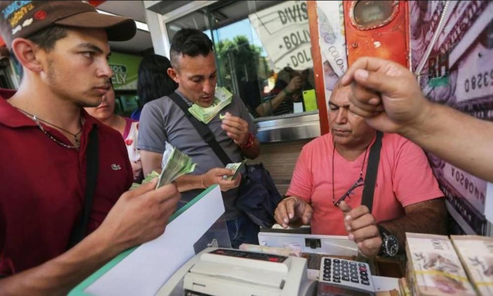 معدل التضخم الشهري في فنزويلا يهبط،