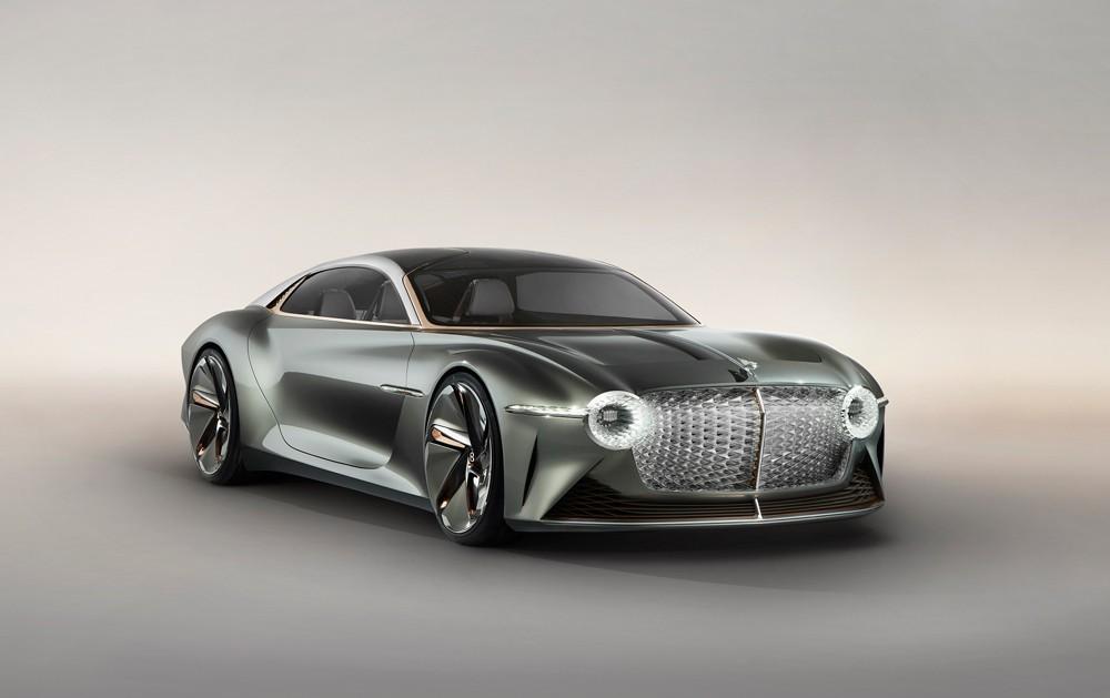 Bentley تعيد تصوّر مستقبل السيارات عبر BENTLEY EXP 100 GT
