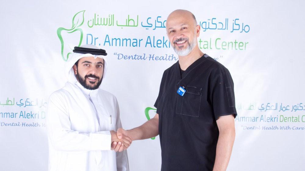 مركز الدكتور عمار العكري يقدم خدماته للمنتخب الأولمبي