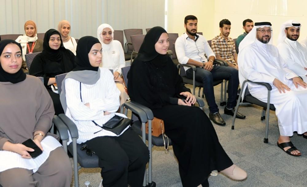 (الأشغال) تستقبل 63 من طلبة التدريب العملي من جامعة البحرين والجامعات الخاصة