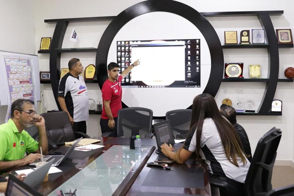 اتحاد السلة يطبق نظاماً إلكترونياً إلى (Scoresheet ) المباريات