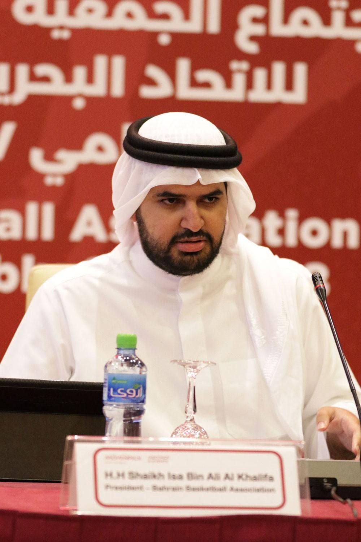 سمو الشيخ عيسى بن علي يشيد بالدعم الكبير الذي تتلقاه كرة السلة البحرينية