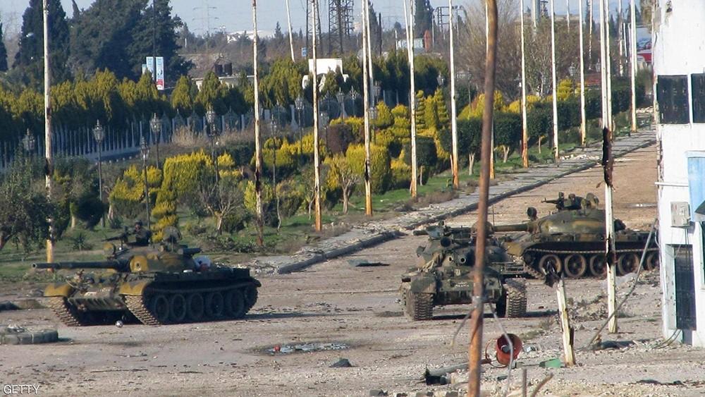 سوريا.. الدفاعات الجوية تتصدى لأهداف معادية في حماة