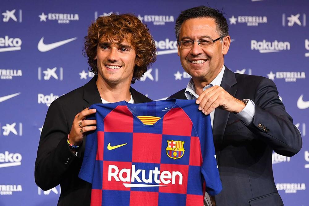 العقوبة المحتملة على برشلونة وجريزمان بعد شكوى أتلتيكو مدريد