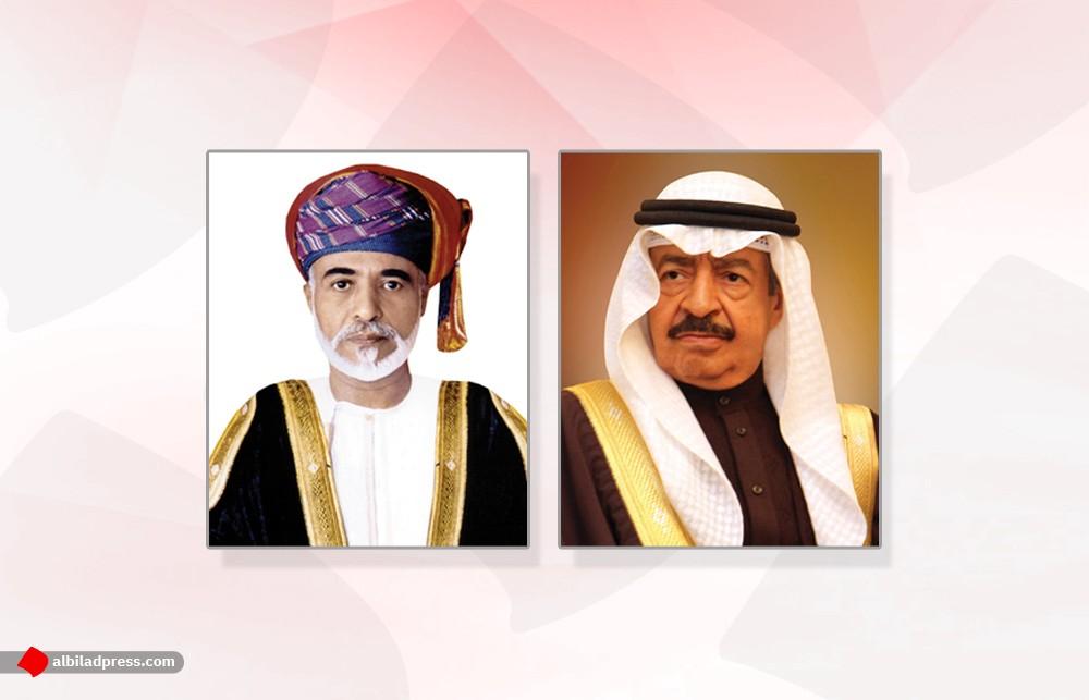 سمو رئيس الوزراء يهنئ السلطان قابوس بذكرى يوم النهضة المباركة