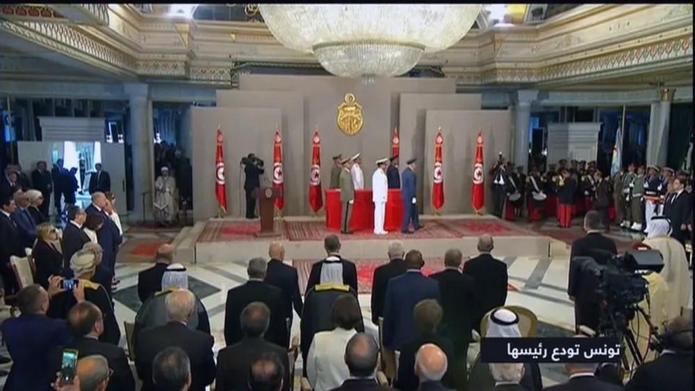 جنازة مهيبة للرئيس التونسي الباجي قايد السبسي