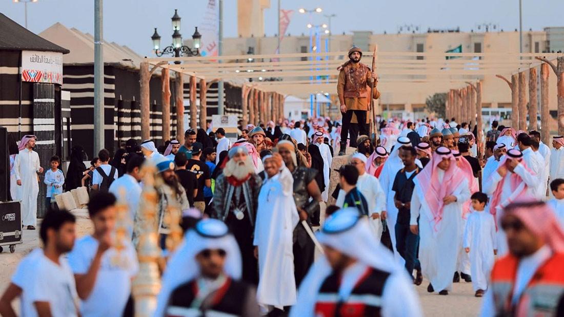 """حي العرب"".. جديد مهرجان ""سوق عكاظ"""