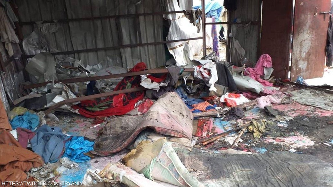 قتلى وجرحى بقصف حوثي على سوق آل ثابت في صعدة