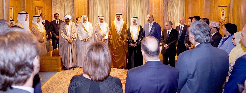 الخارجية تقيم حفل توديع لسعادة سفير السعودية