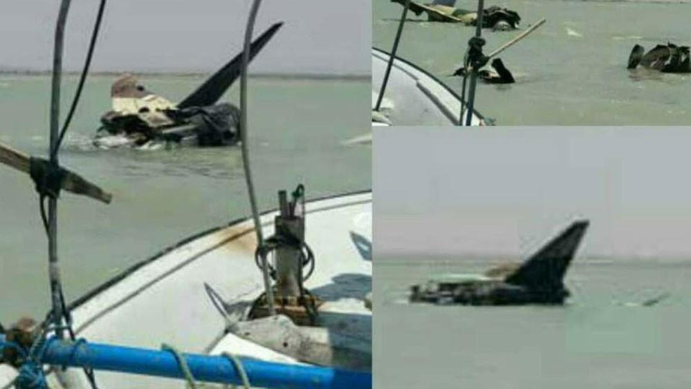 تحطم مقاتلة إيرانية فوق مياه الخليج